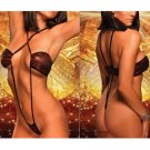 Sexy Hot Wild Erotic Red Brown Hot Lingerie Nightwear Women Body Teddies Teddy