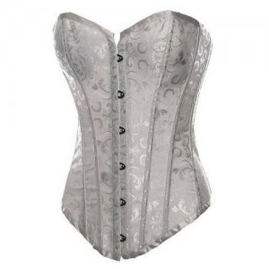 Black or White Plus Size Sexy Victorian Corset XXL