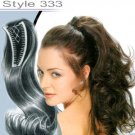 LOOK OF LOVE INTERNATIONAL 333H 100% HUMAN HAIR WING COMB HAIRPIECE-COLOR 26G-WITH BONUS-BRAND NEW!