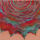 Gypsy Lace-Your First Knitted Lace Shawl with worsted weight yarn PDF Knitting Pattern