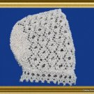 Lace Baby Hat Bonnet PDF Knitting pattern EASY to Knit Victorian style