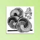 Swirl Design Potholder Hot Pad Vintage Crochet pattern 1948 PDF