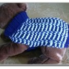 Special Rib Dog sweater knitting pattern