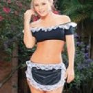 ESP603: 6 - Espiral 3-Pc French Maid Costumes