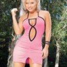 ESP468: Espiral Sexy Halter Clubwear. 6 Dresses