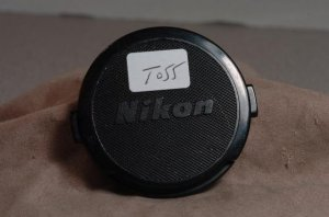 Genuinel (used) Nikon 52mm front lens cap  T055