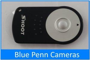 [RC-5] IR remote Canon EOS 5D Mark II 550D 500D 400D 350D