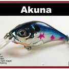 """[BP 131-89]2.9"""""""" Metallic Shad Bass Pike Trout Fishing Lure Tackle"""