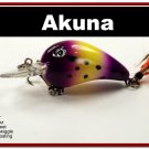 "[BP 132-33]2.3"""" Viking Bass Pike Trout Fishing Lure Bait"