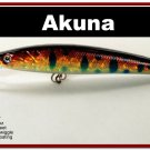 "[BP 34-81]4.3"""" Holographic Red Leopard Bass Pike Minnow Fishing Lure"