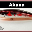 "[BP 45-79]4"""" Metallic Burgundy Shad Bass Pike Topwater Fishing Lure"