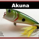"""[BP 48-99]2.4"""""""" Tennessee Shad Bass Topwater Fishing Lure Popper"""