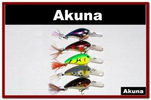 """[BP 5 LKA 33]Lot of 5 Medium Depth Diver 3.0"""""""" Bass Pike Fishing Lure Tackle"""