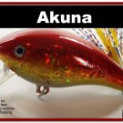 "[BP 52-84]2.2"""" Holographic Red Bass Pike Trout Fishing Lure Bait"