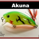 "[BP 52-98]2.2"""" Firetiger Bass Pike Trout Fishing Lure Bait Tackle"