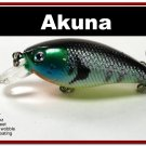 "[BP 54-97]2.9"""" Bluegill Fishing Lure Crankbait Tackle"