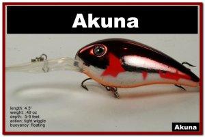 "[BP 55-79]4.3"""" Metallic Burgundy Shad Bass Pike Trout Fishing Lure Crankbait"