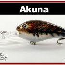 """[BP 55-88]4.3"""""""" New Holographic Brown Bass Pike Trout Fishing Lure"""