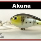 "[BP 55-96]4.3"""" New White Bass Pike Trout Fishing Lure Bait Tackle"