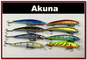 "[BP 8FLA34]8 Pack 4.3"""" Holographic Bass Pike Minnow Fishing Lure"
