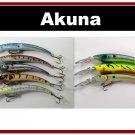 "[BP 8PK 5FLA82 and 3FLA82A]8 Pack 5.9"""" Deep Diving Pike Bass Fishing Lure Tackle"