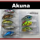 "[BP 8PK 5LKA31 and 3LKA31A]8 Pack 2.9"""" Bass Pike Trout Fishing Lure Bait Crankbait"