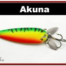 """[SP  10-21]3"""""""" Firetiger Bass Pike Trout Casting Spoon Fishing Lure"""