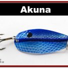 "[SP  68-26]2.4"""" Neon Shad Bass Pike Hammered Spoon Fishing Lure"
