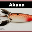 "[SP 10-25-2]2.2"""" Mini Brown Shad Bass Pike Trout Casting Spoon Fishing Lure"
