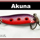 "[SP 14-29-2]1.5"""" Mini Purple Rain Bass Pike Trout Casting Spoon Fishing Lure"