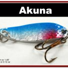 "[SP 14-83-2]1.5"""" Mini Holographic Neon Shad Bass Pike Trout Casting Spoon Fishing Lure"