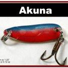 "[SP 39-31-2]1.2"""" Mini Pink Midnight Bass Pike Trout Casting Spoon Fishing Lure"