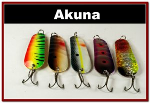 [SP 5 FLC 002 A]Lot of 5 Holographic Ridged Spoon Fishing Lure Tackle