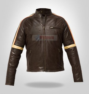 War Of The World Stylish Faux Leather Jacket Tom Cruise - All Sizes