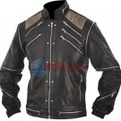Michael Jackson Beat It Vintage Black Original Leather Jacket
