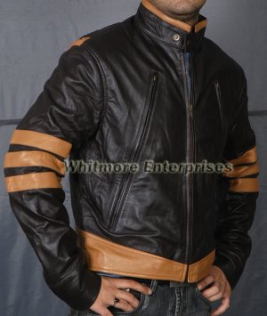 X-Men xmen XO Wolverine Logans Stylish Faux Leather Jacket - All Sizes