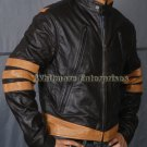 X-Men xmen XO Wolverine Logans Stylish Original Leather Jacket - All Sizes