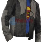 Tony Stark Iron Man 2 Black And Grey Stylish Original Leather Jacket