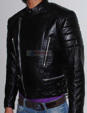 Classic Brando Vintage Bikers Black Original Leather Jacket