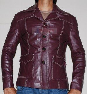 Tyler Durden Brad Pitt Fight Club Brown Original Leather Coat -All Sizes