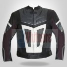 Men Motorcycle MotorBike Biker Stylish Leather Jacket - All Sizes
