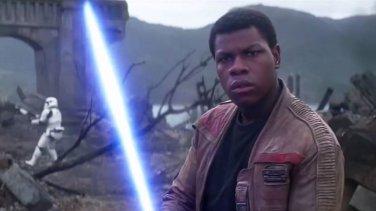 Finn Star Wars Poe Dameron John Boyega Genuine Leather Jacket