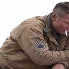 Fury Brad Pitt Tanker World War 2 Cotton Jacket