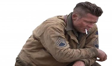 Fury Brad Pitt Tanker World War 2 Cotton Jacket