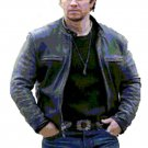 Mark Wahlberg In Daddy's Home CowHide Leather Jacket