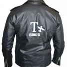 Grease 2 Fancy Dress John Travolta T Birds Black Leather Jacket