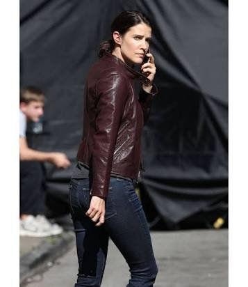 Jack Reacher Never again ladies leather jacket