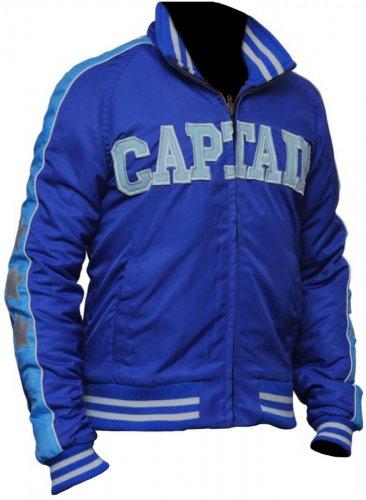 Suicide Squad Captain Boomerang Letterman Cotton blue jacket