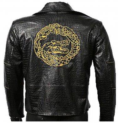 Suicide Squad Snake Leather jacket