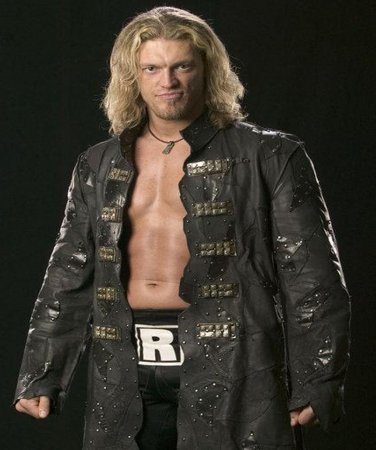 Mattel Edge Elite WWE Wrestler Black Leather Coat Jacket